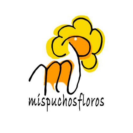 "Logo ""mispuchosfloros"""
