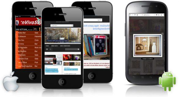 Desenvolvemos APPS para móbiles e tablets